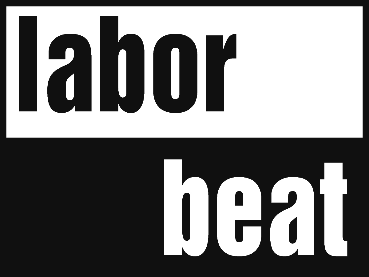 Labor Beat as a logo